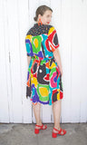 SOLD Colorful Printed Two Piece Set M|L