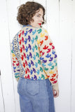 SOLD Matisse Leaf Inspired Wool Sweater | Medium