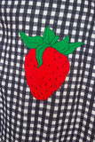 SOLD Amazing Gingham Young Edwardian Strawberry Dress S|M