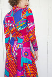 SOLD Colorful Printed Palazzo Jumpsuit S|M
