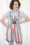 International GEM Striped Overalls | Medium
