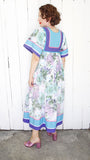 SOLD Krist Gudnason Floral Maxidress | Small