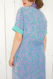 SOLD Triangle Print Shirtdress M|L