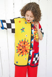 Lisa Nichols Hand Knit Novelty Sun Cardigan | Large