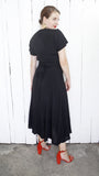 Carole Little x Saint-Tropez Black Dress | Medium