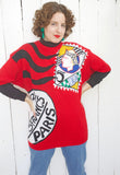 Novelty Euro Cotton Sweater | Large