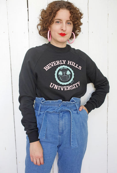 On Reserve! | Beverly Hills University Sweatshirt 1985 | Large