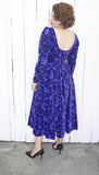 Laura Ashley Velvet Dress | Medium