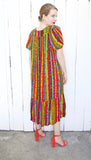 SOLD Colorful Printed Tent Dress | Medium