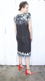 Silk-N-Sequin Beaded Dress | Medium