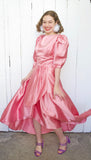 SOLD Dusty Rose Pink Dress | XS