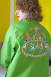 Bob Mackie Wearable Art Shirt Jacket L|XL