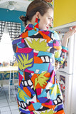 SOLD Vibrant Printed Blazer | Large