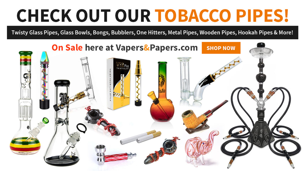 Vapers&Papers.com - Shop Tobacco Pipes, One Hitters, Twisty Blunts, Glass Blunts, Hookah Pipes & more!
