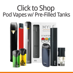 Vapers&Papers.com - Shop Pod Vape Devices w/ Pre-filled Pods/ Pod Vaporizers w/ Pre-filled Pod Tanks
