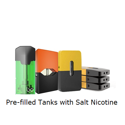 Vapers&Papers.com - Pre-filled Tanks with Salt Nicotine