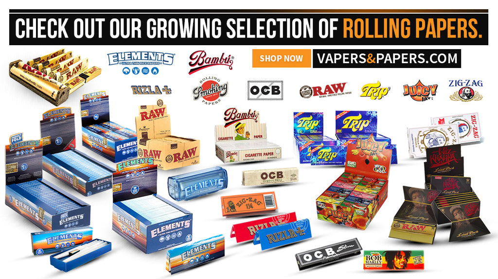 Vapers&Papers.com - Shop Rolling Papers - Roll Your Own Cigarette/ Cigar Papers