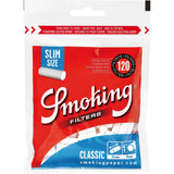 Smoking Classic Slim Cigarette Filter Tips - 15mm Cigarette Filters (120 Count Single Pack) - vapersandpapers.com