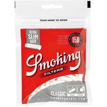 Smoking Ultra Slim Cigarette Filter Tips - 15mm Cigarette Filters (150 Count Single Pack) - vapersandpapers.com