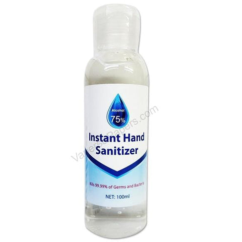 Instant Hand Sanitizer - 75% Alcohol - 100mL Bottle (1 Pack) - vapersandpapers.com