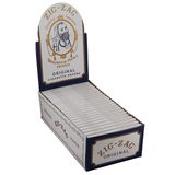 Zig Zag White Single Wide Rolling Paper - 24 Count Box - vapersandpapers.com