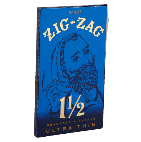 Zig Zag Blue Ultra Thin 1 1/2 Rolling Paper - 32-Leaf Single Booklet - vapersandpapers.com