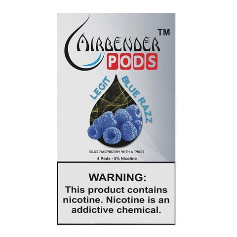 Airbender JUUL Compatible 5% Salt Nicotine Pod Tanks - Legit (4 Pack) DISCONTINUED -  LIMITED SUPPLY - vapersandpapers.com