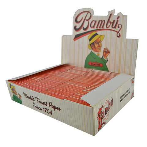 Bambú Classic 1 1/4 Rolling Papers - 100 Count Box - vapersandpapers.com