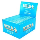 Rizla Blue Kingsize Slim Rolling Paper - 50 Count Box - vapersandpapers.com