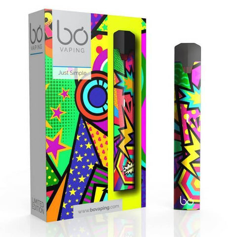 Bo One Starter Kit - Limited Edition Pod Vaporizer (Hip-Hop Funk) - vapersandpapers.com