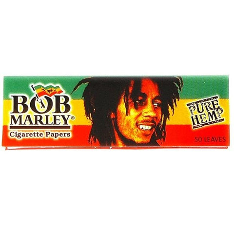 Bob Marley 1 1/4 Rolling Paper - 50-Leaf Single Booklet - vapersandpapers.com