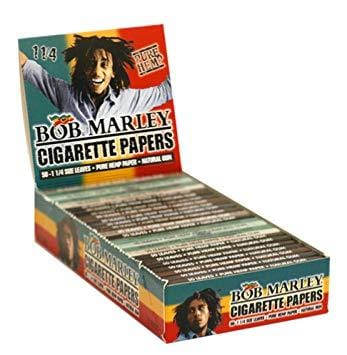 Bob Marley 1 1/4 Rolling Paper - 24 Count Box - vapersandpapers.com