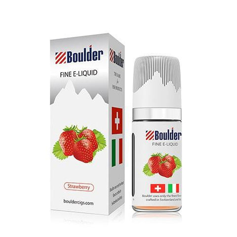 Boulder e-Liquid - Strawberry - vapersandpapers.com