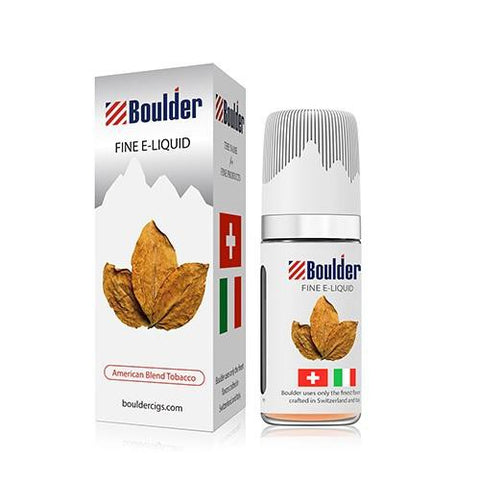 Boulder e-Liquid - American Blend Tobacco - vapersandpapers.com