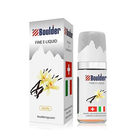 Boulder e-Liquid - Vanilla - vapersandpapers.com