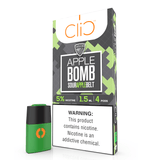 CliC 1.5mL Pod Tanks - 5% Salt Nicotine - VGOD Apple Bomb (4 Pack) - vapersandpapers.com