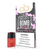 CliC 1.5mL Pod Tanks - 5% Salt Nicotine - VGOD Berry Bomb (4 Pack) - vapersandpapers.com