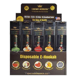 Crown Disposable e-Hookah - 20 Count Variety Box w/ 0.6% Nicotine - vapersandpapers.com