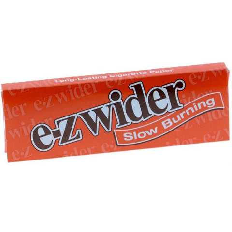 E-Z Wider Orange 1 1/4 Rolling Paper - 24-Leaf Single Booklet - vapersandpapers.com