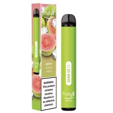 Fruyt (Fruty) STIK Extra Edition 3.0mL Disposable Pod Vape - 5% Salt Nicotine - Guava Ice (1 Pack) - vapersandpapers.com