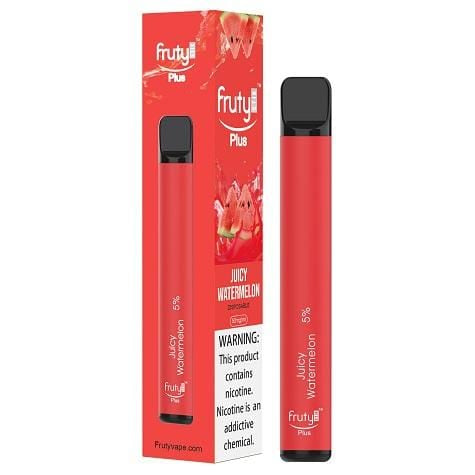 Fruyt (Fruty) STIK Plus Edition 3.5mL Disposable Pod Vape - 5% Salt Nicotine - Juicy Watermelon (1 Pack) - vapersandpapers.com