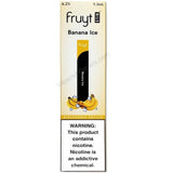 Fruyt (Fruty) STIK 1.3mL Disposable Pod Vape - 6.2% Salt Nicotine - Banana Ice (1 Pack) - vapersandpapers.com