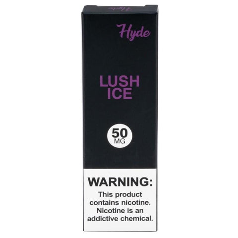 Hyde Original Disposable Pod Vape - 2.5% or 5% Salt Nicotine - Lush Ice (1 Pack) - vapersandpapers.com