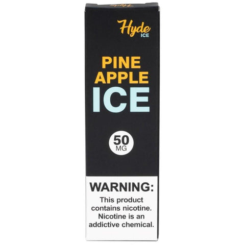 Hyde Original Edition 1.8mL Disposable Pod Vape - 2.5% or 5% Salt Nicotine - Pineapple Ice (1 Pack) - vapersandpapers.com