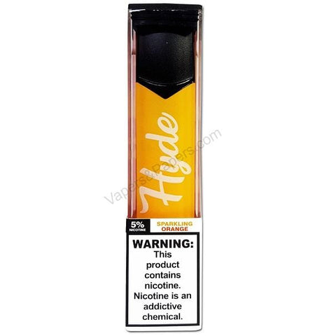 Hyde Color Edition 1.6mL Disposable Pod Vape - 2.5% or 5% Salt Nicotine - Sparkling Orange (1 Pack) - vapersandpapers.com