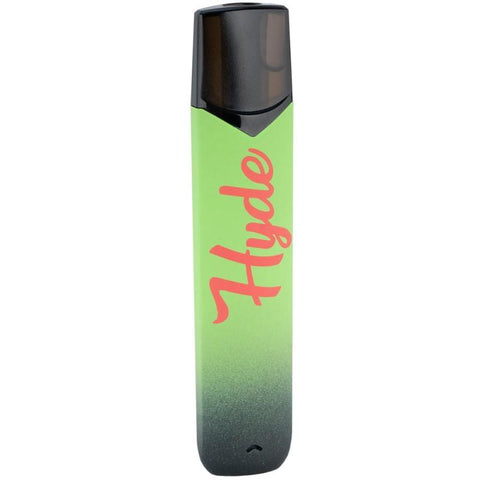 Hyde Color Edition 1.6mL Disposable Pod Vape - 2.5% or 5% Salt Nicotine - Strawmelon Apple (1 Pack) - vapersandpapers.com