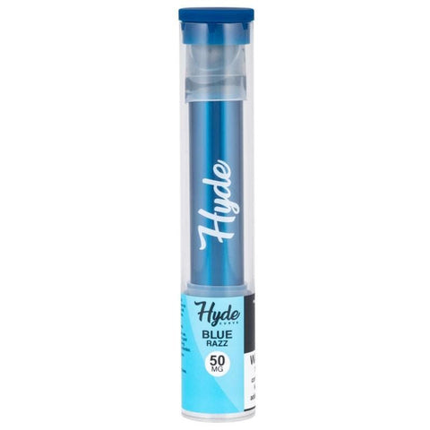 Hyde Curve Edition 1.5mL Disposable Pod Vape - 5% Salt Nicotine - Blue Razz (1 Pack) - vapersandpapers.com