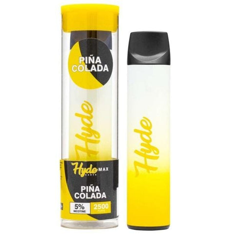 Hyde Curve Max Edition 8.0mL Disposable Pod Vape w/ Adjustable Airflow - 5% Salt Nicotine - Pina Colada (1 Pack)
