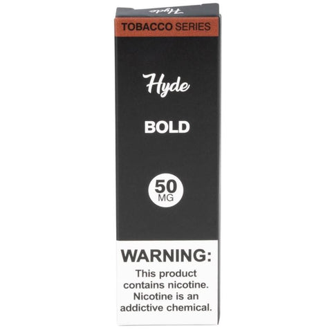 Hyde Original Edition 1.8mL Disposable Pod Vape - 2.5% or 5% Salt Nicotine - Bold Tobacco (1 Pack) - vapersandpapers.com
