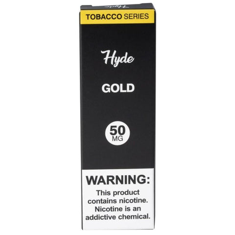 Hyde Original Edition 1.8mL Disposable Pod Vape - 2.5% or 5% Salt Nicotine - Gold Tobacco (1 Pack) - vapersandpapers.com